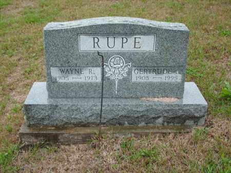 RUPE, GERTRUDE - Meigs County, Ohio   GERTRUDE RUPE - Ohio Gravestone Photos