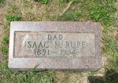 RUPE, ISAAC N. - Meigs County, Ohio | ISAAC N. RUPE - Ohio Gravestone Photos