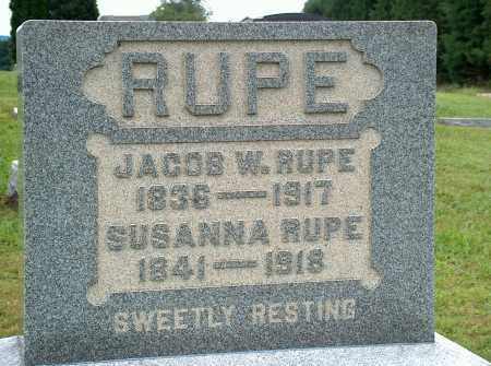 RUPE, SUSANNA - Meigs County, Ohio | SUSANNA RUPE - Ohio Gravestone Photos