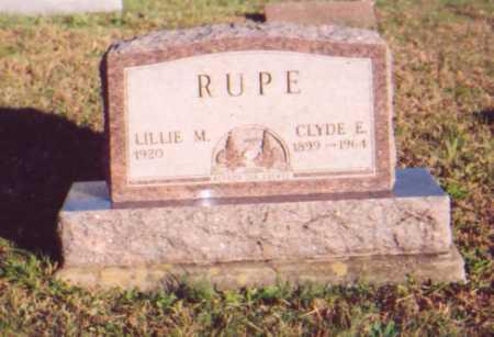 RUPE, LILLIE M. - Meigs County, Ohio | LILLIE M. RUPE - Ohio Gravestone Photos
