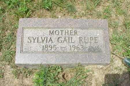 RUPE, SYLVIA GAIL - Meigs County, Ohio | SYLVIA GAIL RUPE - Ohio Gravestone Photos
