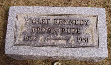 KENNEDY BROWN, VIOLET - Meigs County, Ohio | VIOLET KENNEDY BROWN - Ohio Gravestone Photos
