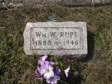 RUPE, WILLIAM W. - Meigs County, Ohio | WILLIAM W. RUPE - Ohio Gravestone Photos