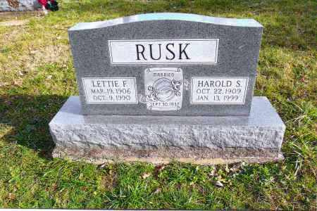 RUSK, HAROLD - Meigs County, Ohio | HAROLD RUSK - Ohio Gravestone Photos