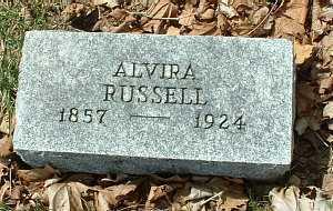 RUSSELL, ALVIRA - Meigs County, Ohio | ALVIRA RUSSELL - Ohio Gravestone Photos