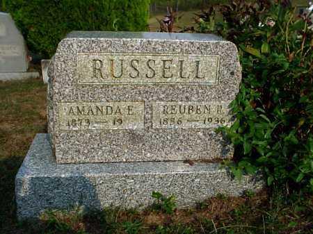 RUSSELL, REUBEN R. - Meigs County, Ohio | REUBEN R. RUSSELL - Ohio Gravestone Photos