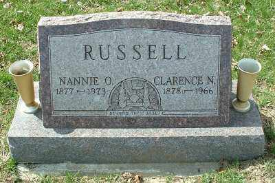 RUSSELL, CLARENCE N. - Meigs County, Ohio | CLARENCE N. RUSSELL - Ohio Gravestone Photos