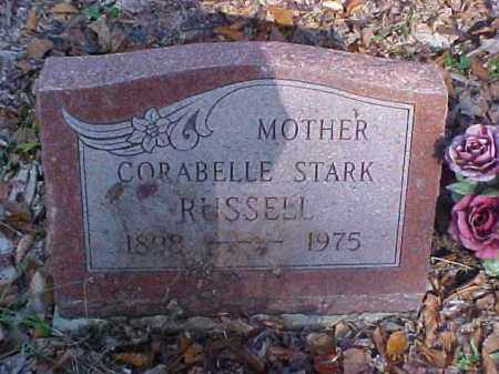 STARK RUSSELL, CORABELLE - Meigs County, Ohio | CORABELLE STARK RUSSELL - Ohio Gravestone Photos