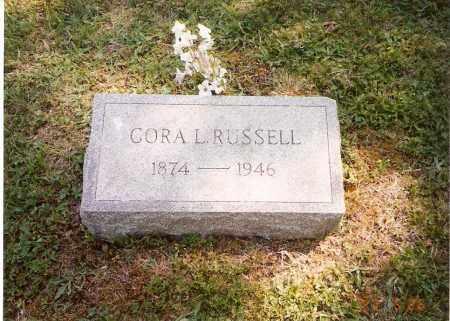 RUSSELL, CORA L. - Meigs County, Ohio | CORA L. RUSSELL - Ohio Gravestone Photos