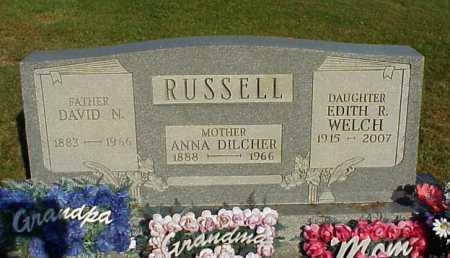 WELCH, EDITH R. - Meigs County, Ohio | EDITH R. WELCH - Ohio Gravestone Photos