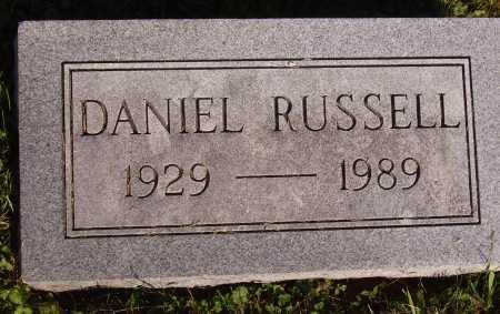 RUSSELL, DANIEL - Meigs County, Ohio | DANIEL RUSSELL - Ohio Gravestone Photos