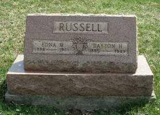 RUSSELL, DAYTON H. - Meigs County, Ohio   DAYTON H. RUSSELL - Ohio Gravestone Photos