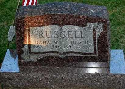 RUSSELL, LULA B. - Meigs County, Ohio | LULA B. RUSSELL - Ohio Gravestone Photos