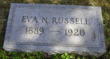 RUSSELL, EVA N. - Meigs County, Ohio | EVA N. RUSSELL - Ohio Gravestone Photos