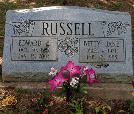 RUSSELL, EDWARD - Meigs County, Ohio | EDWARD RUSSELL - Ohio Gravestone Photos