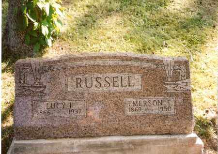 RUSSELL, LUCY F. - Meigs County, Ohio | LUCY F. RUSSELL - Ohio Gravestone Photos