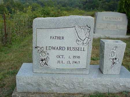 RUSSELL, EDWARD - Meigs County, Ohio | EDWARD RUSSELL - Ohio Gravestone Photos
