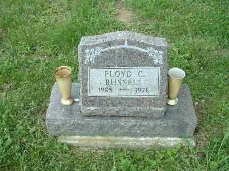 RUSSELL, FLOYD C. - Meigs County, Ohio   FLOYD C. RUSSELL - Ohio Gravestone Photos