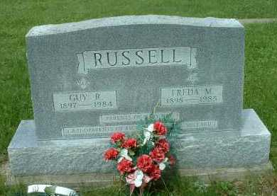 RUSSELL, GUY R. - Meigs County, Ohio | GUY R. RUSSELL - Ohio Gravestone Photos