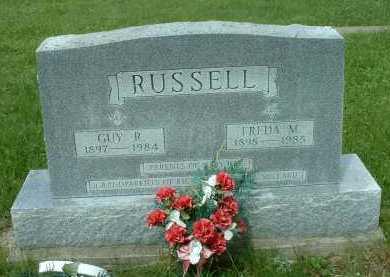 RUSSELL, FREDA M. - Meigs County, Ohio | FREDA M. RUSSELL - Ohio Gravestone Photos