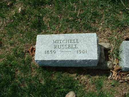 RUSSELL, MITCHELL - Meigs County, Ohio | MITCHELL RUSSELL - Ohio Gravestone Photos