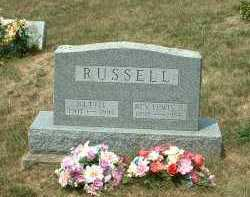 RUSSELL, REV. LEWIS A. - Meigs County, Ohio | REV. LEWIS A. RUSSELL - Ohio Gravestone Photos