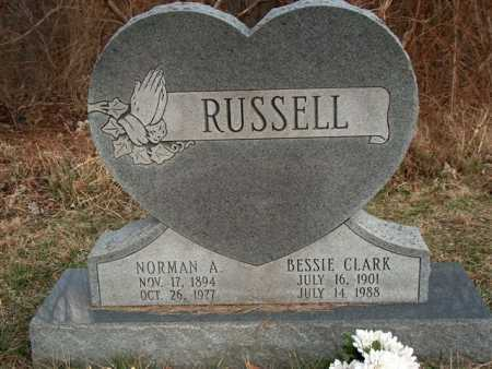 RUSSELL, NORMAN A. - Meigs County, Ohio | NORMAN A. RUSSELL - Ohio Gravestone Photos