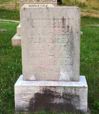RUSSELL, O. - Meigs County, Ohio | O. RUSSELL - Ohio Gravestone Photos
