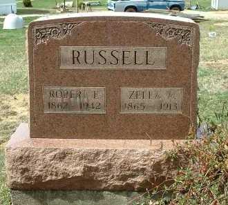 RUSSELL, ZELLA A. - Meigs County, Ohio   ZELLA A. RUSSELL - Ohio Gravestone Photos