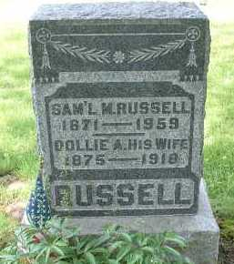 RUSSELL, SAMUEL MICHAEL - Meigs County, Ohio | SAMUEL MICHAEL RUSSELL - Ohio Gravestone Photos