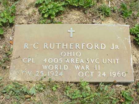 RUTHERFORD, R. C. JR. - Meigs County, Ohio | R. C. JR. RUTHERFORD - Ohio Gravestone Photos