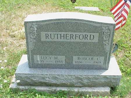 RUTHERFORD, ROSCOE C. - Meigs County, Ohio | ROSCOE C. RUTHERFORD - Ohio Gravestone Photos