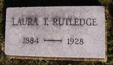 RUTLEDGE, LAURA T. - Meigs County, Ohio | LAURA T. RUTLEDGE - Ohio Gravestone Photos
