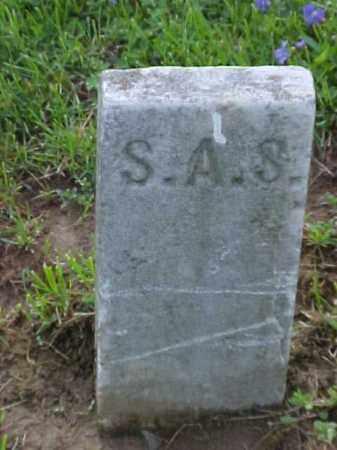S., S. A. - Meigs County, Ohio | S. A. S. - Ohio Gravestone Photos