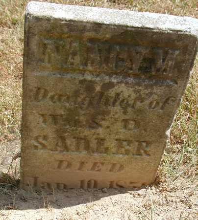 SADLER, NANCY M. - Meigs County, Ohio   NANCY M. SADLER - Ohio Gravestone Photos
