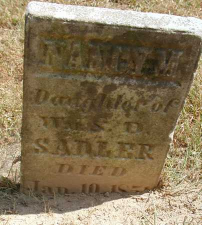 SADLER, NANCY M. - Meigs County, Ohio | NANCY M. SADLER - Ohio Gravestone Photos