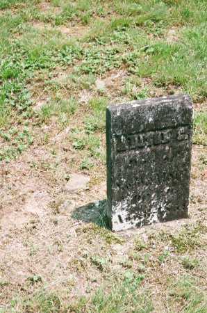 SALSER, ADISON E. - Meigs County, Ohio | ADISON E. SALSER - Ohio Gravestone Photos