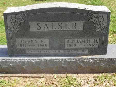 SALSER, BENJAMIN NIAL - Meigs County, Ohio | BENJAMIN NIAL SALSER - Ohio Gravestone Photos