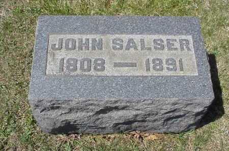 SALSER, JOHN - Meigs County, Ohio | JOHN SALSER - Ohio Gravestone Photos
