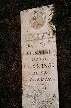 SALSER, MARTHA - Meigs County, Ohio | MARTHA SALSER - Ohio Gravestone Photos