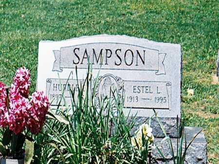 SAMPSON, HURDLE - Meigs County, Ohio   HURDLE SAMPSON - Ohio Gravestone Photos