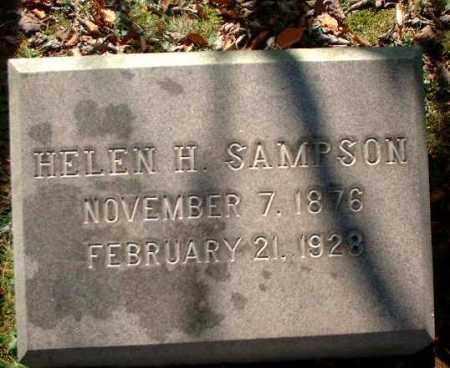 SAMPSON, HELEN H. - Meigs County, Ohio | HELEN H. SAMPSON - Ohio Gravestone Photos