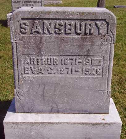 SANBURY, EVA C. - Meigs County, Ohio | EVA C. SANBURY - Ohio Gravestone Photos
