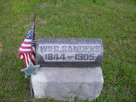 SANDERS, WILLIAM G. - Meigs County, Ohio | WILLIAM G. SANDERS - Ohio Gravestone Photos