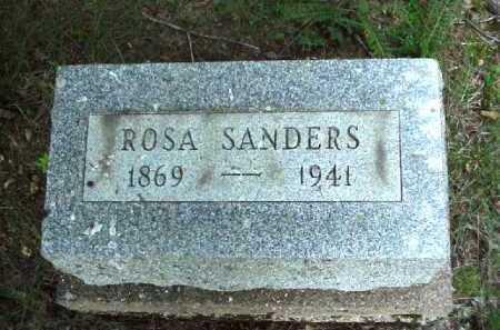 SANDERS, ROSA - Meigs County, Ohio | ROSA SANDERS - Ohio Gravestone Photos