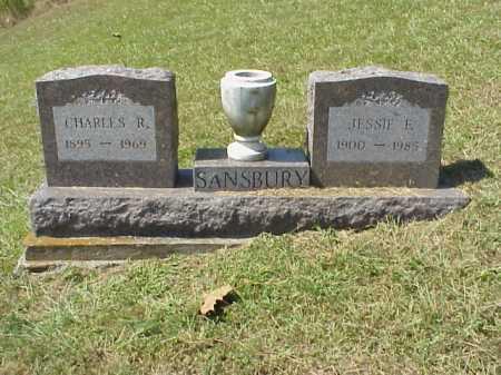 SANSBURY, CHARLES R. - Meigs County, Ohio | CHARLES R. SANSBURY - Ohio Gravestone Photos