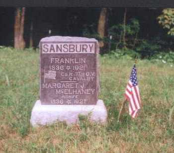 SANSBURY, FRANKLIN - Meigs County, Ohio | FRANKLIN SANSBURY - Ohio Gravestone Photos