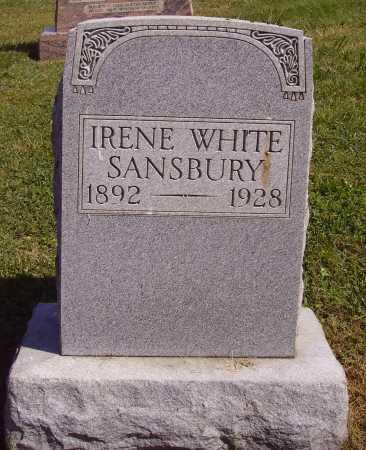 WHITE SANSBURY, IRENE - Meigs County, Ohio | IRENE WHITE SANSBURY - Ohio Gravestone Photos