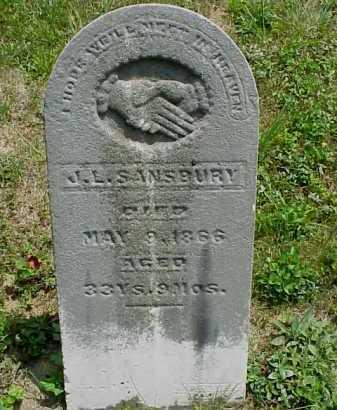 SANSBURY, J.L. - Meigs County, Ohio | J.L. SANSBURY - Ohio Gravestone Photos