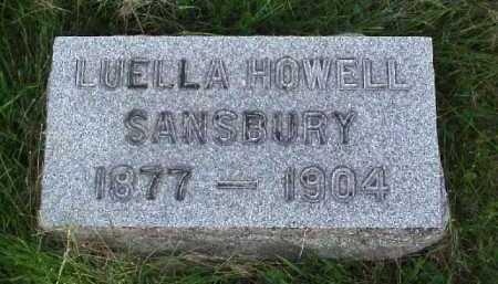 SANSBURY, LUELLA - Meigs County, Ohio | LUELLA SANSBURY - Ohio Gravestone Photos
